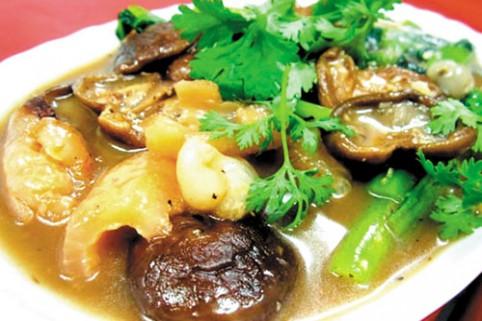 Hải sâm nấu đậu